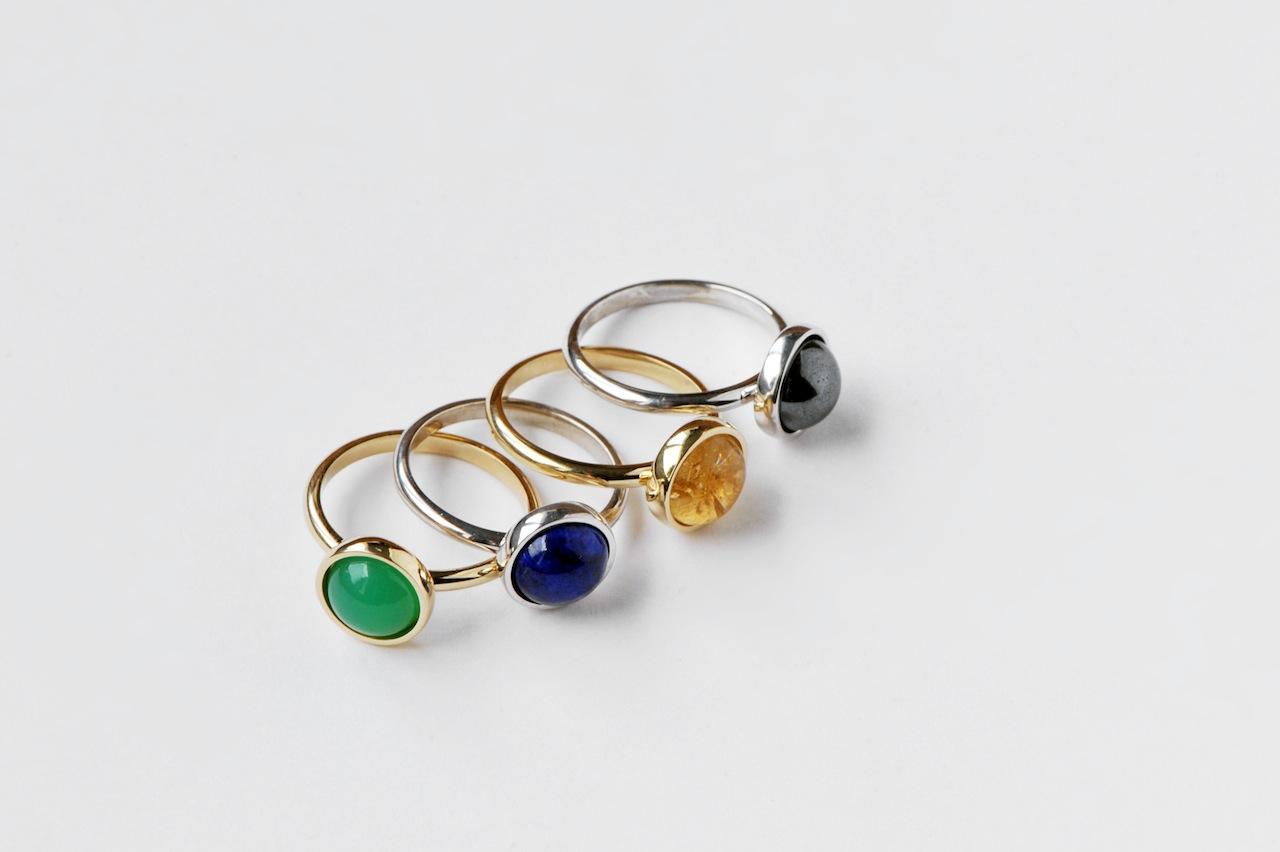 Anillos «Colorines» piedras variadas