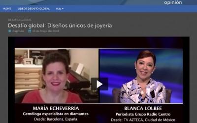 Entrevista TV Azteca, mayo 2015