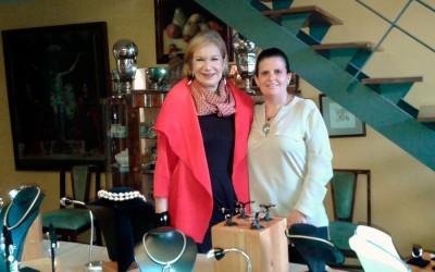 Exposición en casa de Guadalupe Loaeza