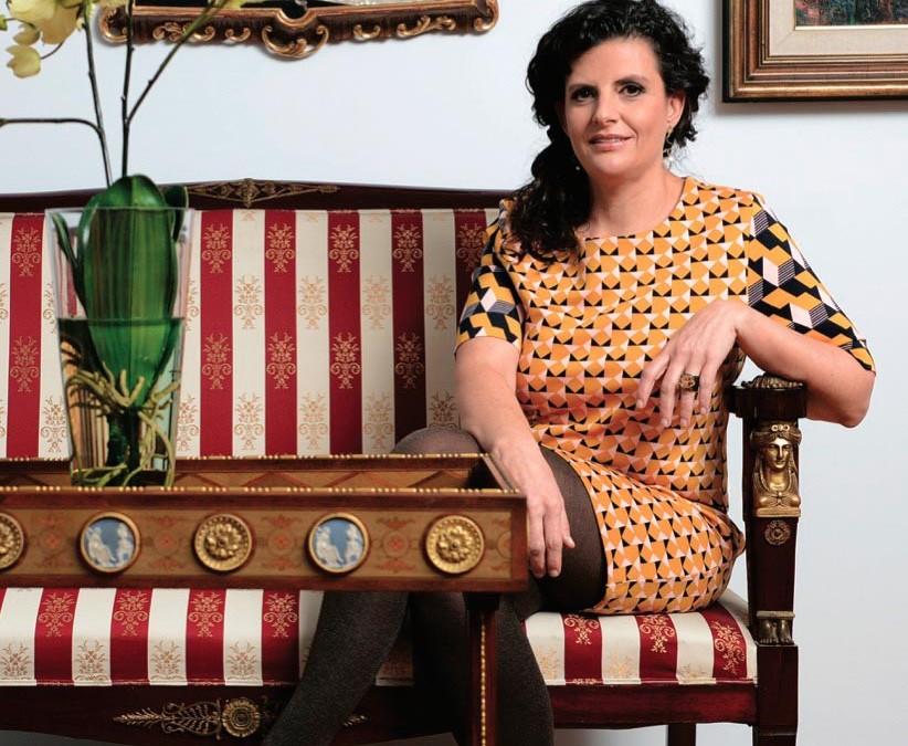 Entrevista a María Echeverría en la Revista Central